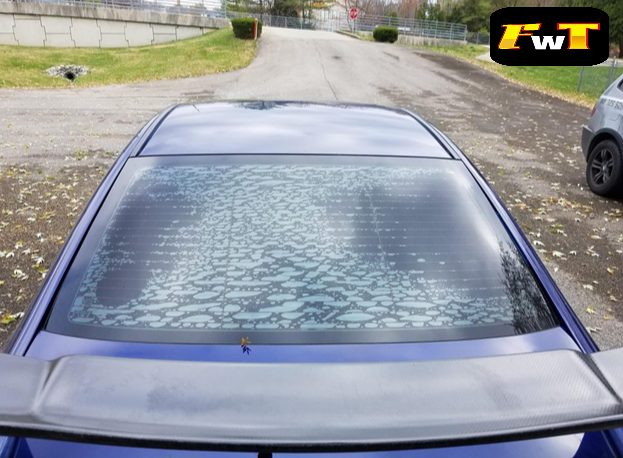 How to Remove Old Window Tint that has Gone Bad